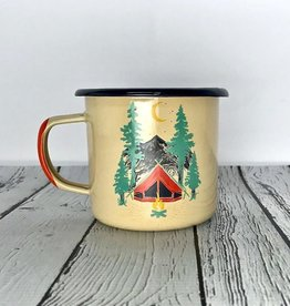 Tent Dreams 12oz Enamel Steel Mug