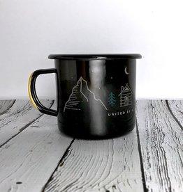 Get Lost 12oz Enamel Steel Mug