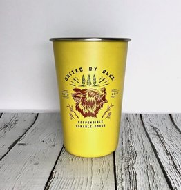 Grizzly 16oz Stainless Steel Tumbler