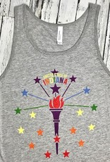 Torch and Stars Pride Tank