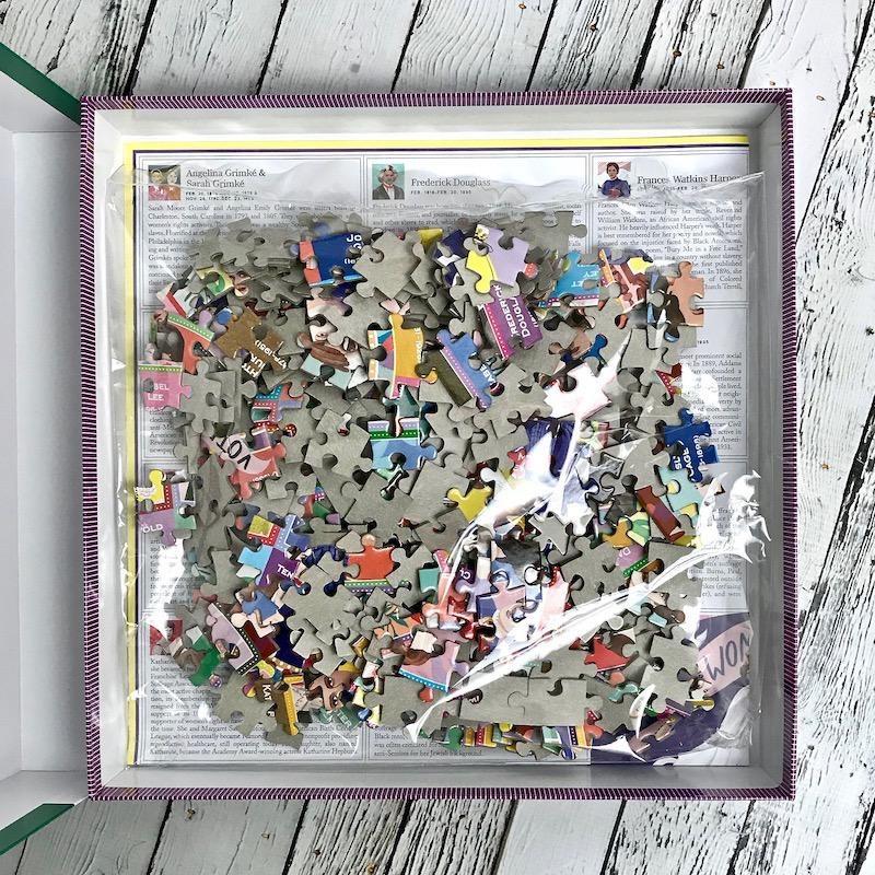 Votes for Women Round 500 Piece Puzzle