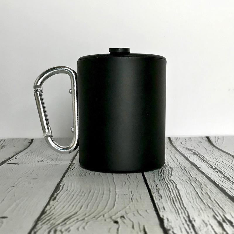 Happy Camper Carabiner Mug