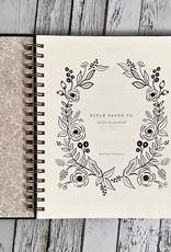 2020 Wild Rose Spiral Bound Planner