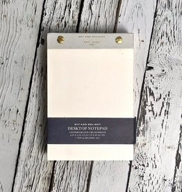 Grey Desktop Notepad