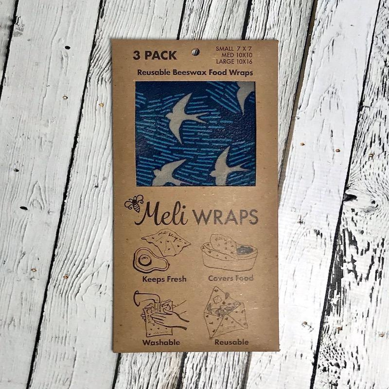 Manu Bee's Wax Wrap 3 Pack