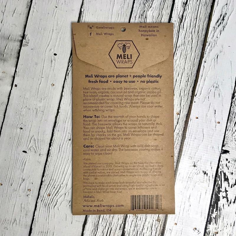 Sierra Bee's Wax Wrap 3 Pack