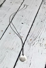 """Going Places Mini Type Necklace on 16"""" Cord"""
