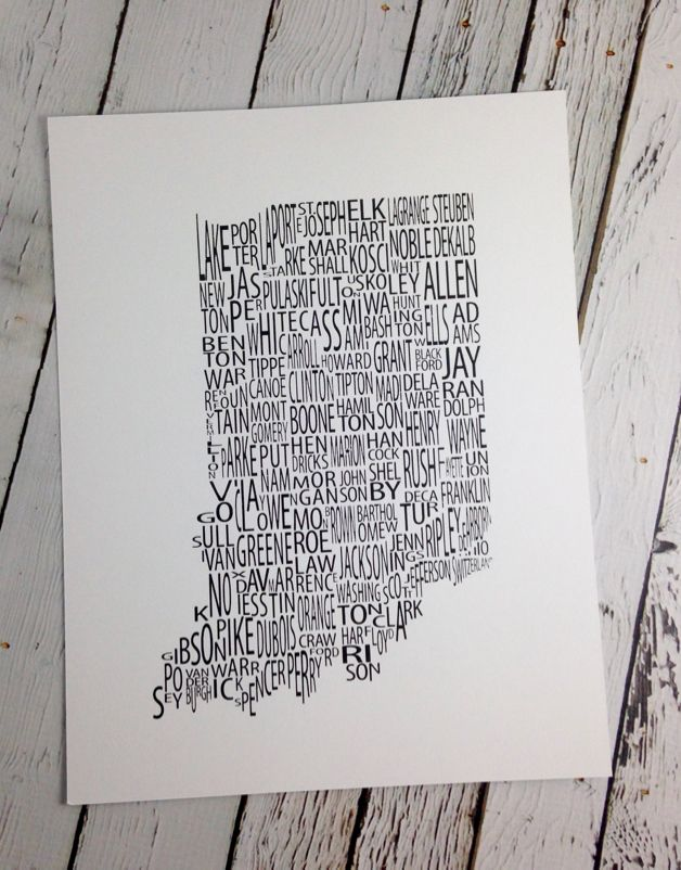 Indiana County Print