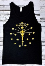 Torch and Stars Tank, Black
