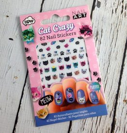 Cat Crazy Nail Art