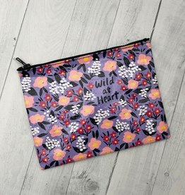 Wild At Heart Zipper Pouch
