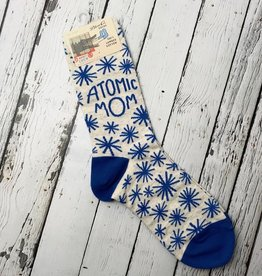 Atomic Mom Women's Crew Socks