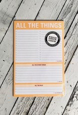 All The Things Pad