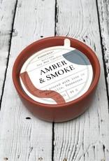 Amber & Smoke 3.5oz Candle