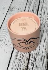 Love Ya Tobacco & Vanilla 5.75oz Candle