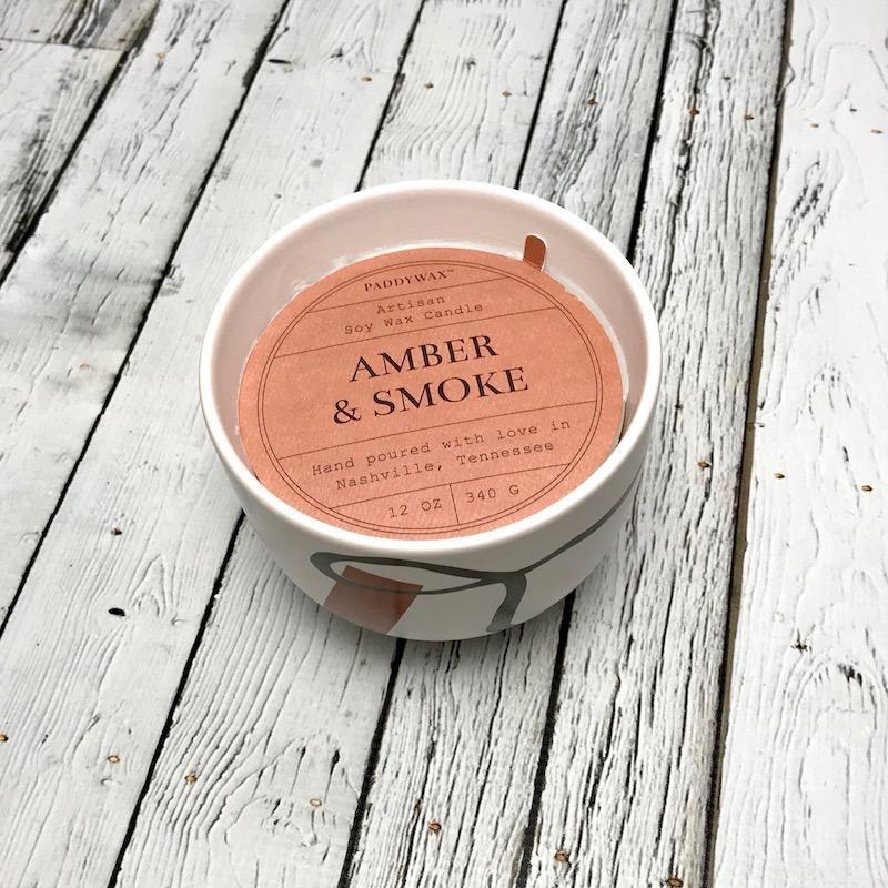 Amber & Smoke 12oz Candle