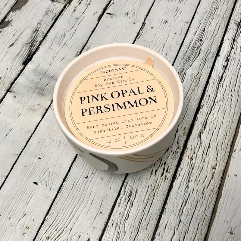 Pink Opal & Persimmon 12oz Candle