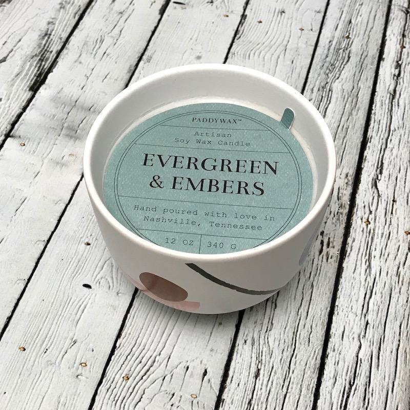 Evergreen & Embers 12oz Candle