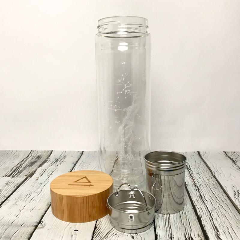 Astronomy Glass Tea Infuser