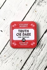 After Dinner Amusements: Truth or Dare for Couples