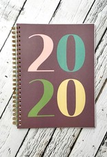 2020 Year In Color Monthly Planner