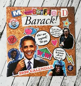 My Imaginary Boyfriend: Barack 2020 Wall Calendar