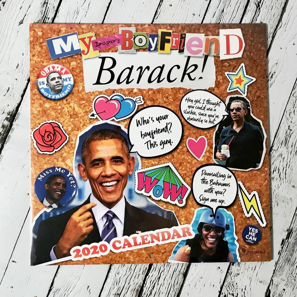 My Imaginary Boyfriend: Barack 2020 Wall Calendar
