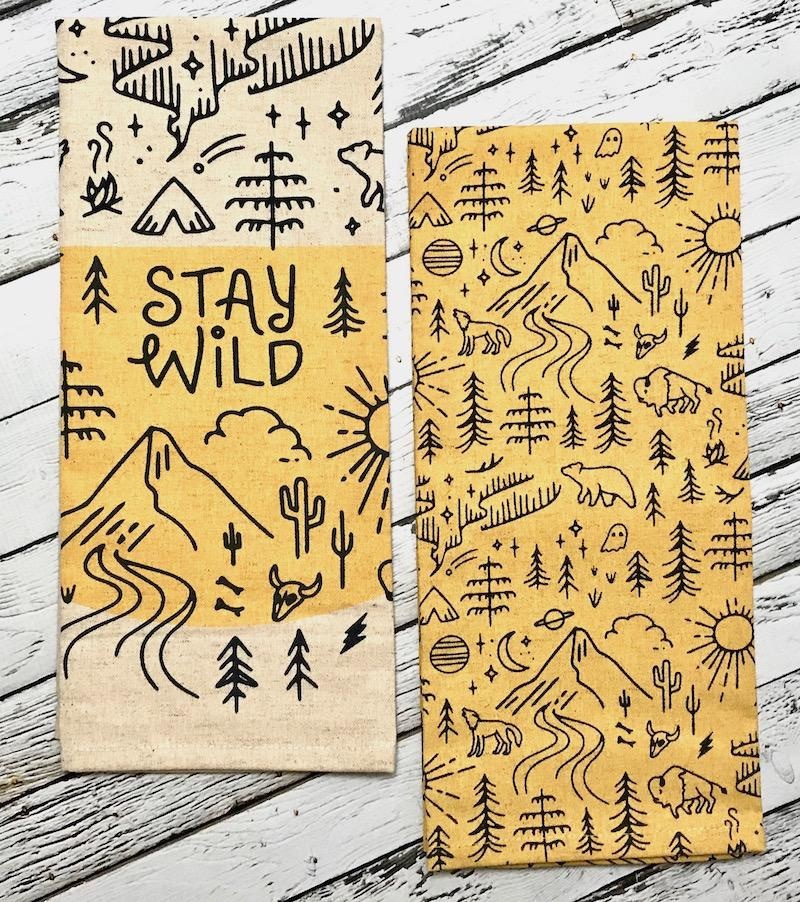 Stay Wild Dishtowel