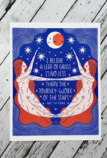 Work of the Stars 8x10 Print