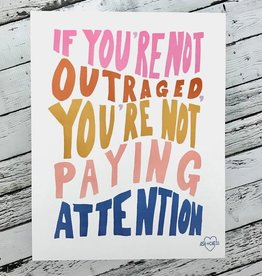 "Outraged 11""x14"" Print"