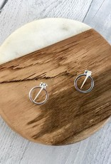 Sterling Silver Front/Back Jacket Earrings