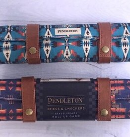 Pendleton Backgammon:Travel-Ready Roll-Up Game