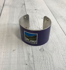 """1.5"""" Cuff Bracelet made from Upcycled Beer Cans, Upland"""
