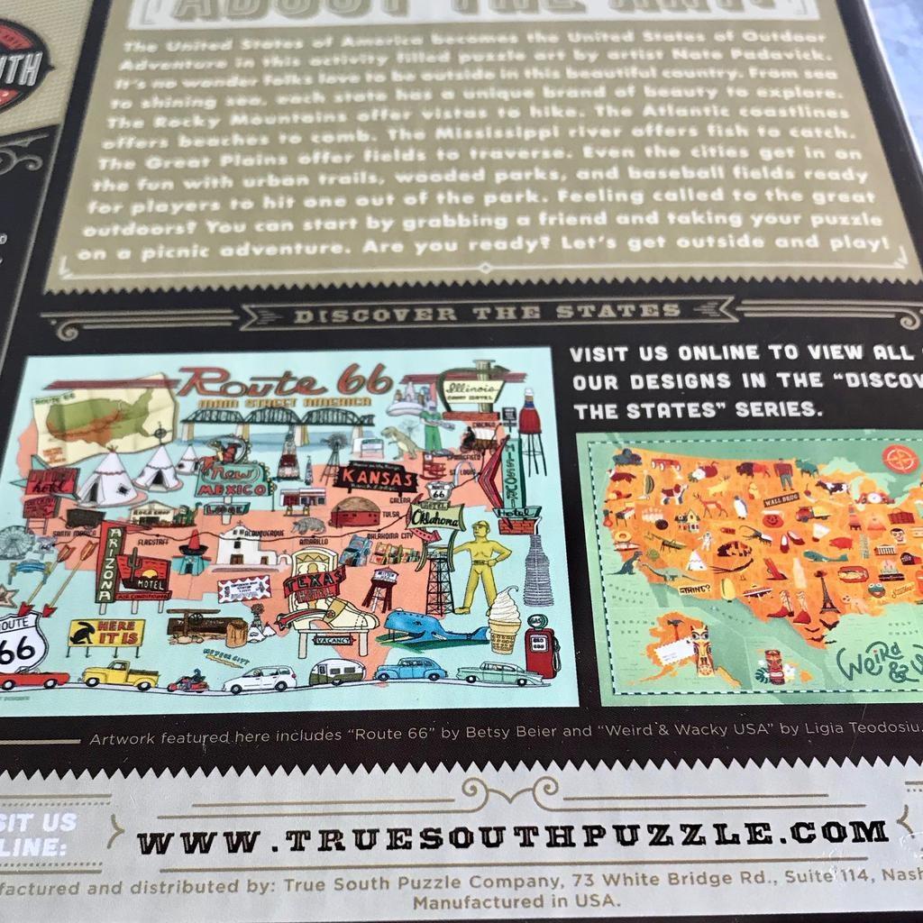 Outdoor Adventure 1000 Piece Puzzle