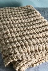 Beige Amanda Chunky Knit Scarf