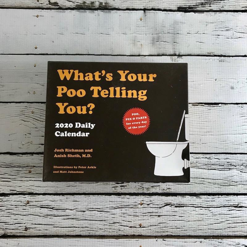 What's Your Poo Telling You? 2020 Daily Calendar