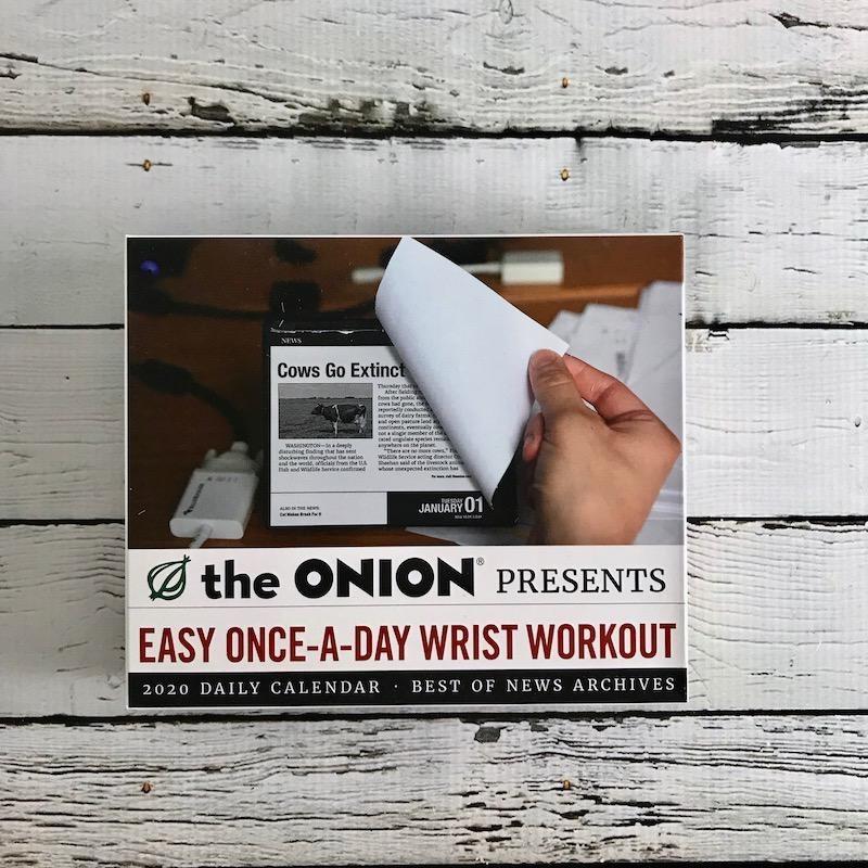 The Onion 2020 Daily Calendar