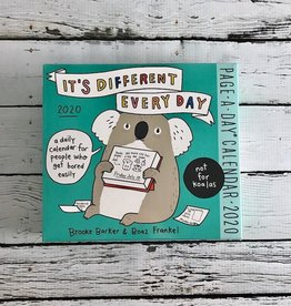 It's Different Everyday 2020 Daily Desk Calendar