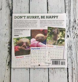 Sloths 2020 Mini Calendar