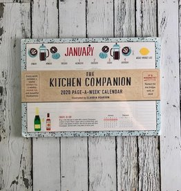 The Kitchen Companion Page a Week 2020 Calendar