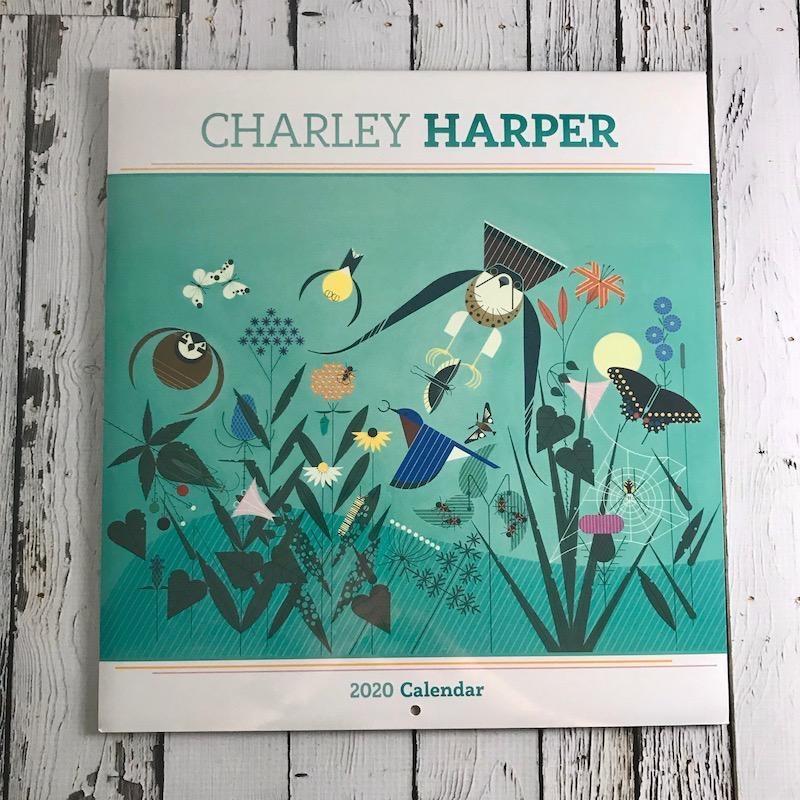 2020 Wall Calendar: Charley Harper