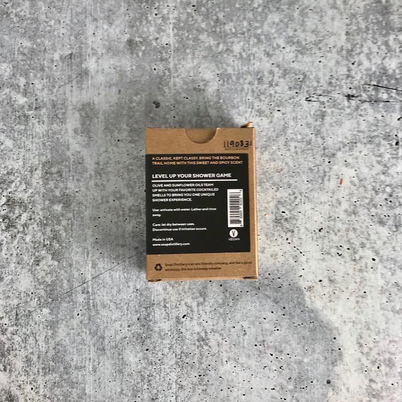 Bourbon Soap Bar