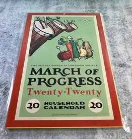 The Victory Garden of Tomorrow: March for Progress 2020 Calendar
