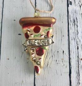 True Love Pizza Ornament