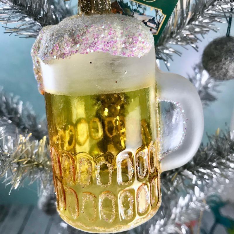 Old World Christmas Mug of Beer Ornament
