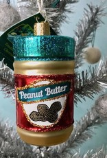 Old World Christmas Jar of Peanut Butter Ornament