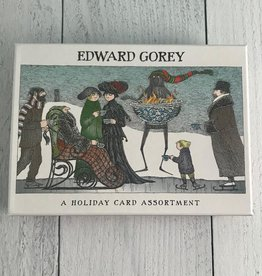 Edward Gorey Boxed Holiday Cards: Assorted 20 Cards & Envelopes,