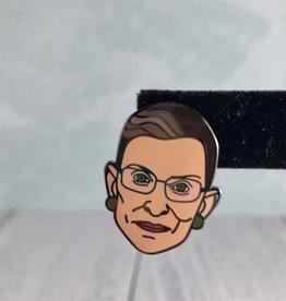 Ruth Bader Ginsburg Enamel Pin by Dissent Pins