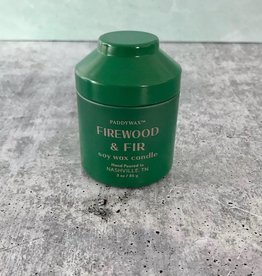 Firewood & Fir 3oz Tin Candle