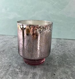 Jolly 4.5oz Glass Tinsel Candle